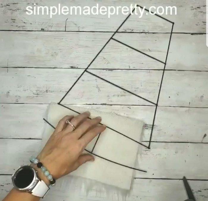 gnome door hanger DIY