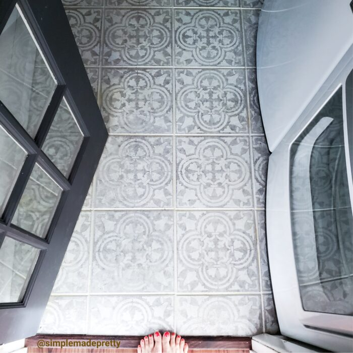 Laundry room stench floor