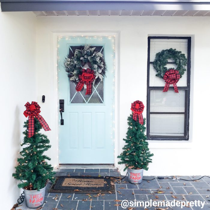decorations outdoor Christmas ideas