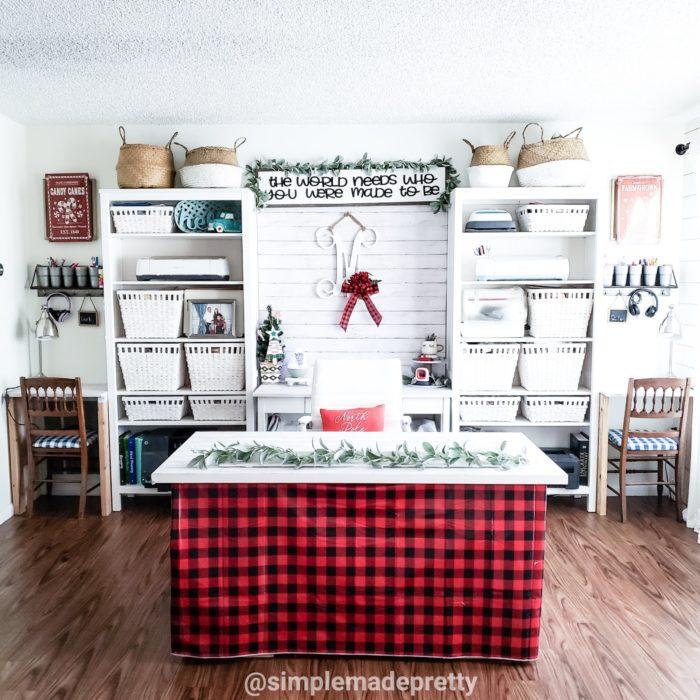 Craft room Decor Christmas Ideas