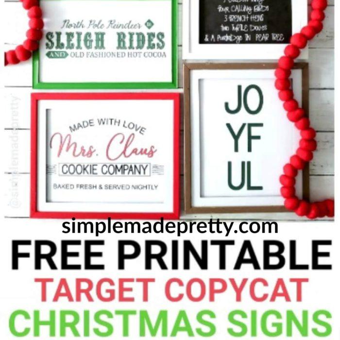 Christmas Signs DIY Target