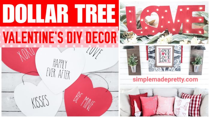 Dollar Tree Valentine's Day DIY
