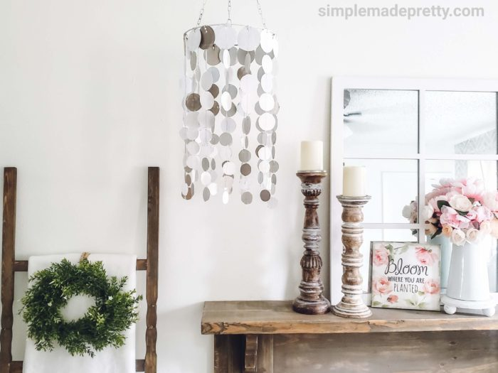 DIY Dollar Tree Chandelier