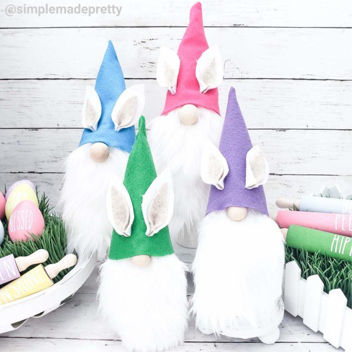gnome bunny Dollar Tree