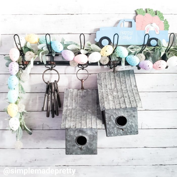 Easter Egg Garland DIY Dollar Tree
