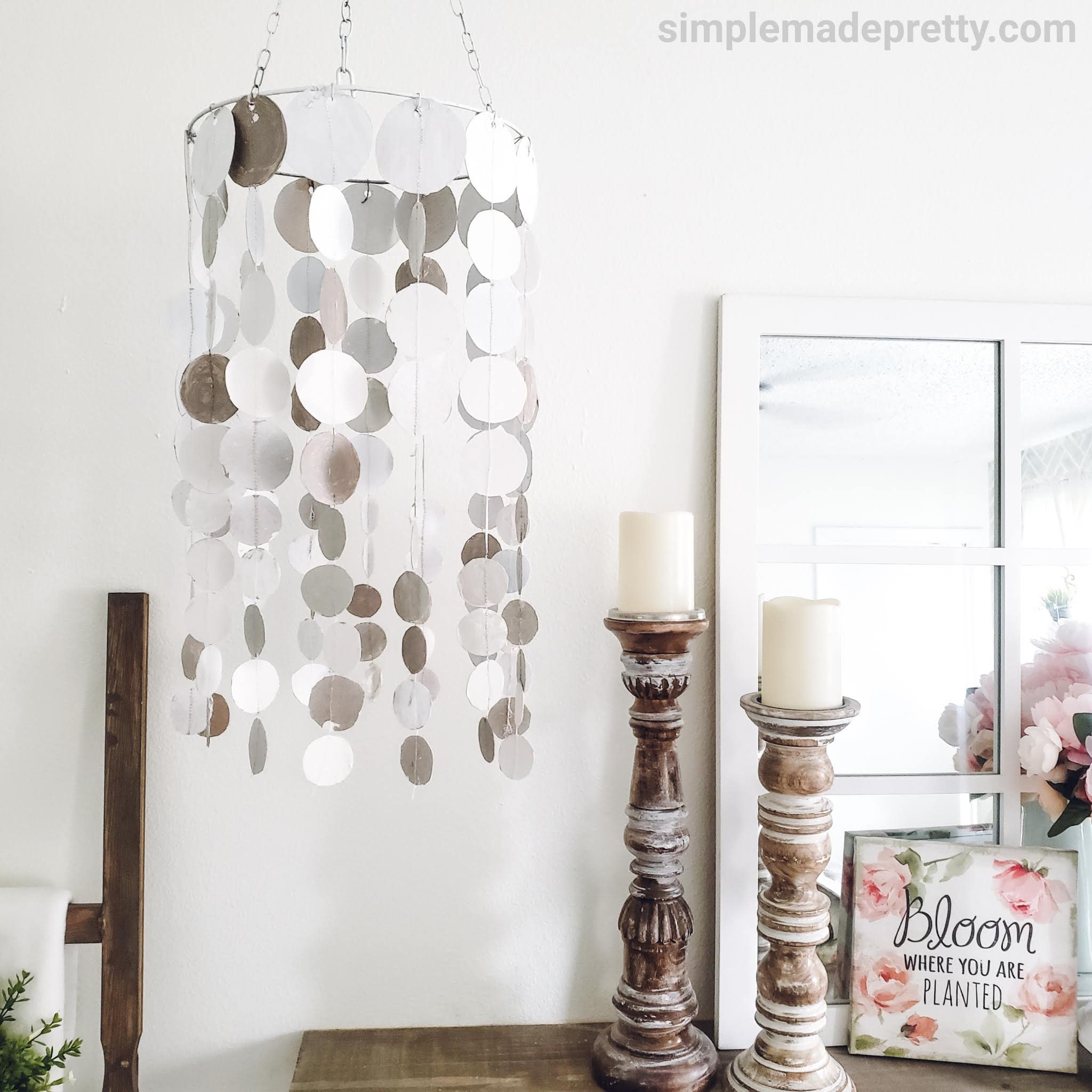 Dollar Tree Chandelier