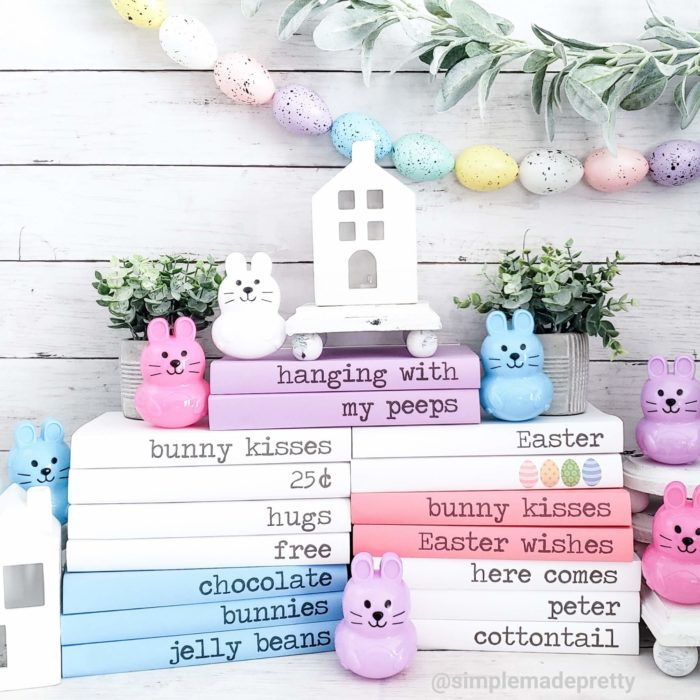 Easter Stamped Books