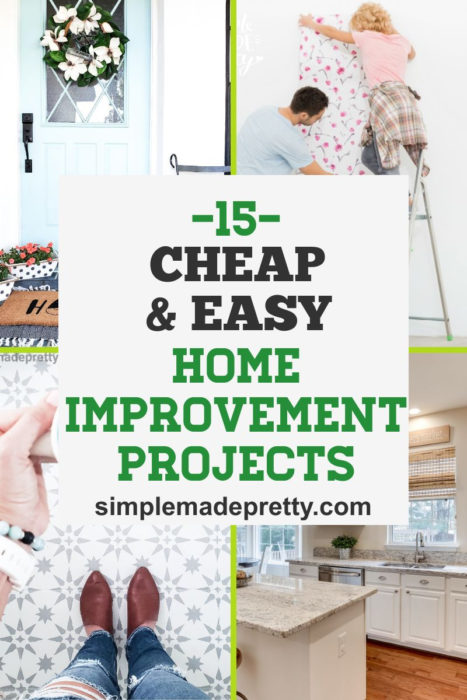 Cheap Easy Home Improvement Projects