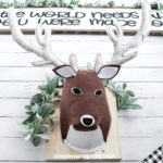 DIY Stuffed Deer Head Cricut Project