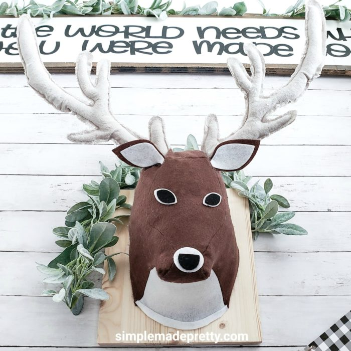 3d deer head cricut