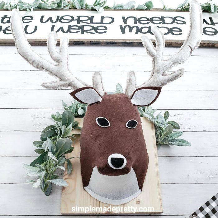3d deer head cricut