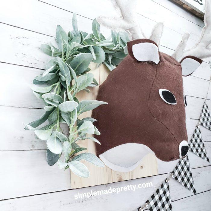 3d deer head cricut maker