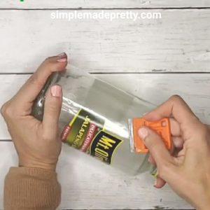 How to reuse food glass jars