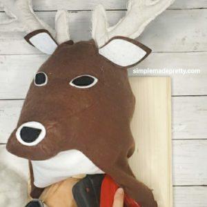 stuffed deer head nursery