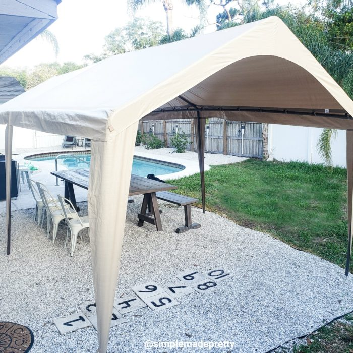 Abba Patio Carport with pool