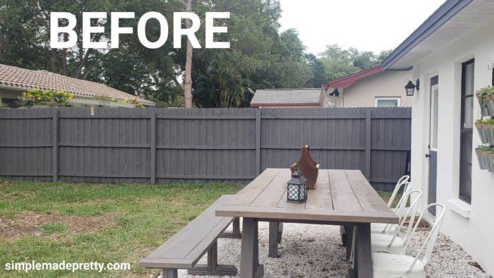Outdoor Farmhouse Table DIY