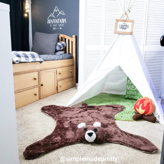 Bear Rug Boys Room Decor