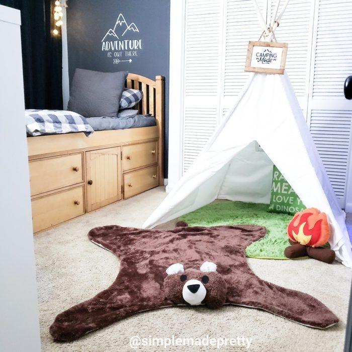 Bear Rug Boys Room Decor