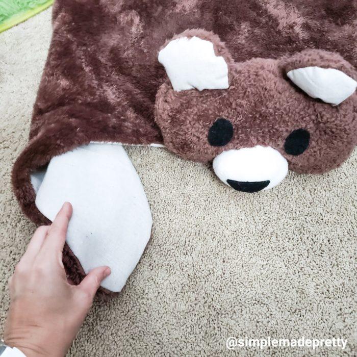 Bear rug nursery