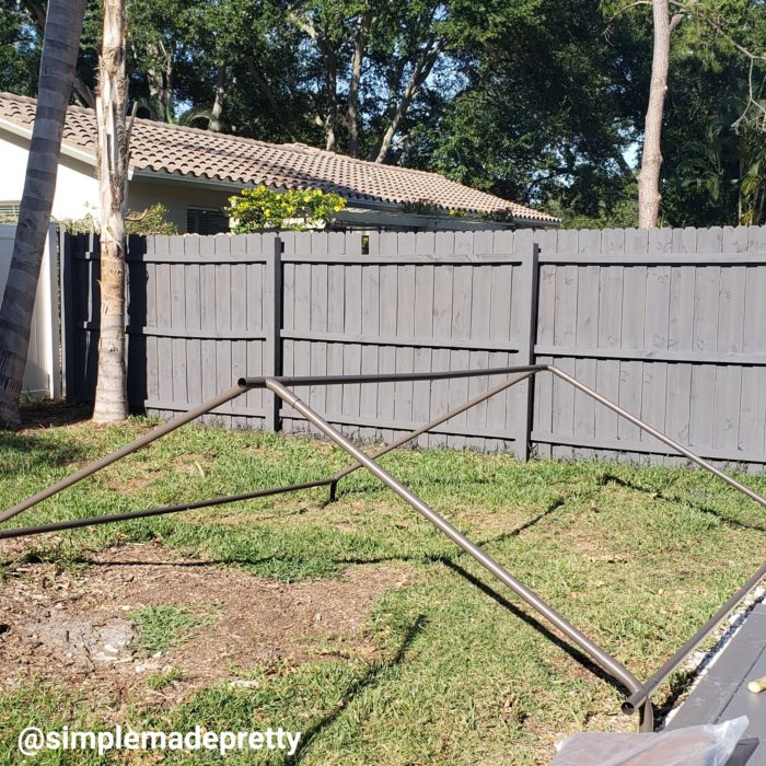 How to build a canopy