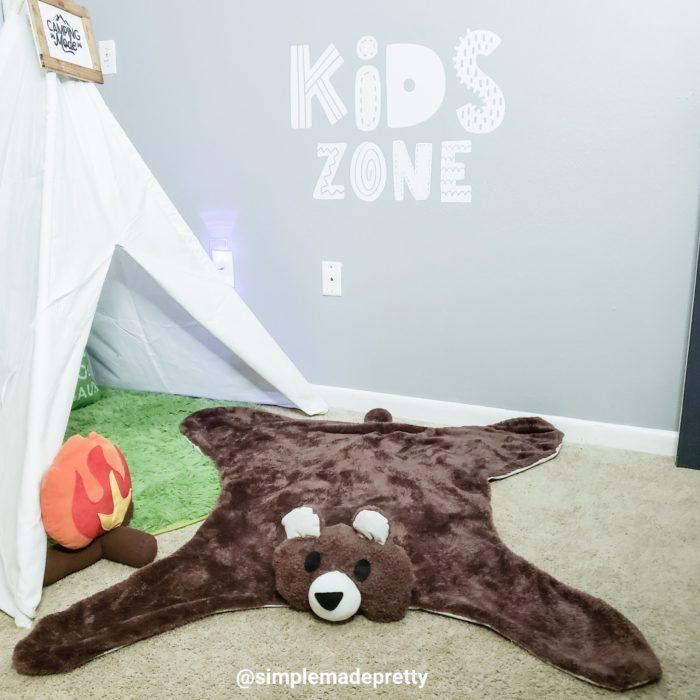 bear rug DIY