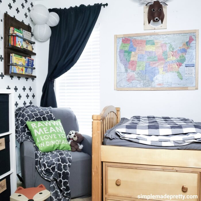 Boy room forest theme
