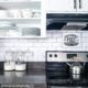 Dollar Tree Subway Tiles Kitchen Backsplash
