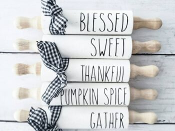 Farmhouse mini rolling pins