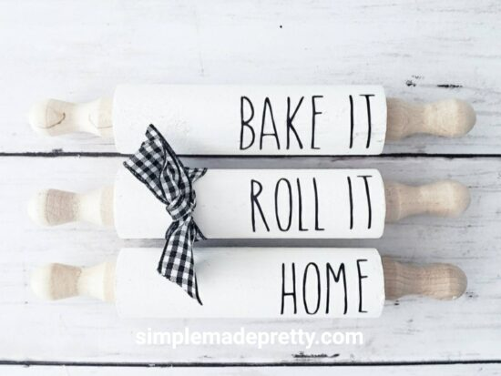 Mini Rolling Pins Farmhouse
