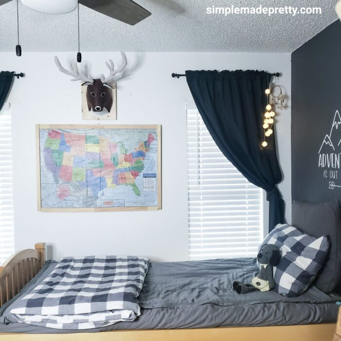 beddy's gray bedding boy