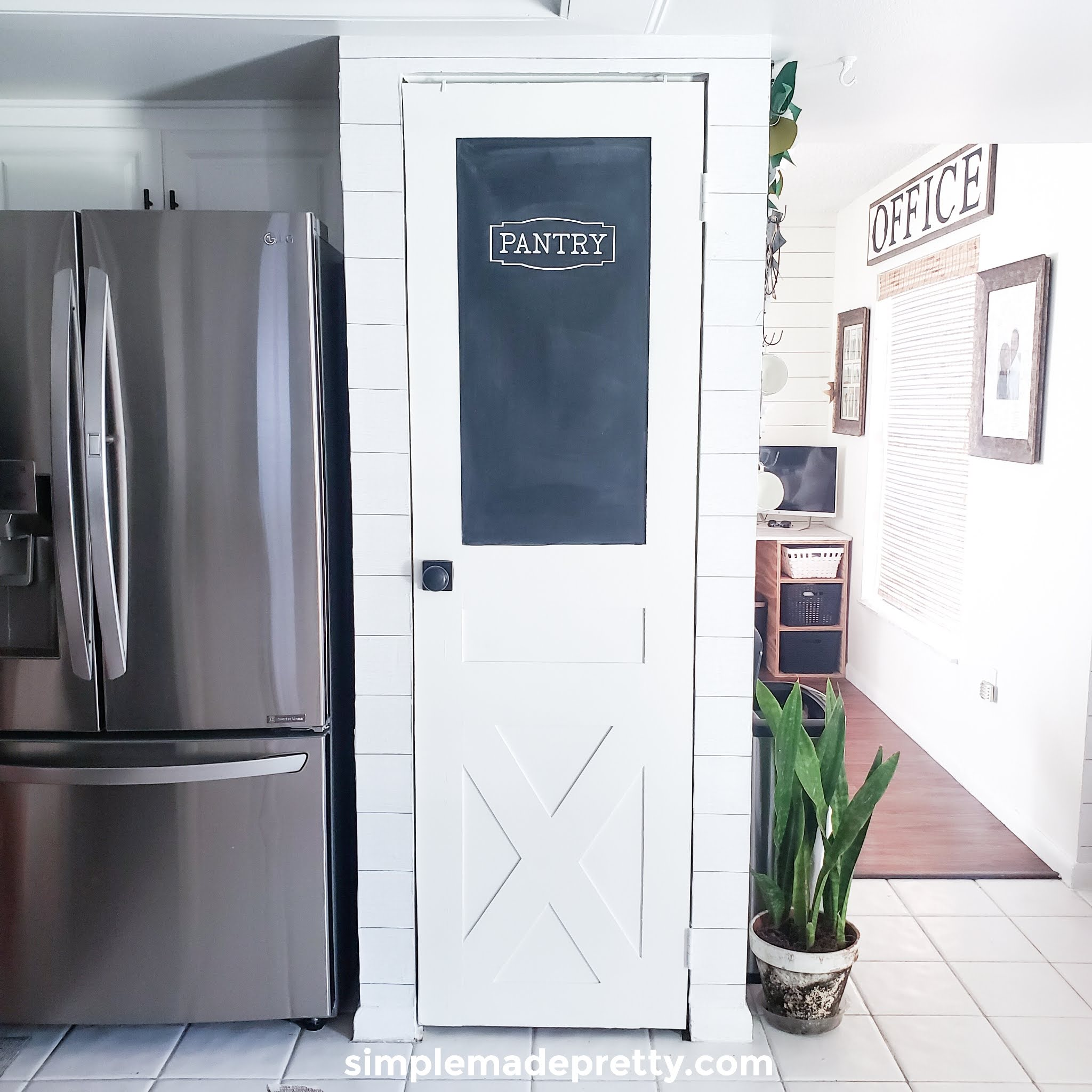 How To Turn A Bi Fold Door Into A Barn Door Simple Made Pretty 2020