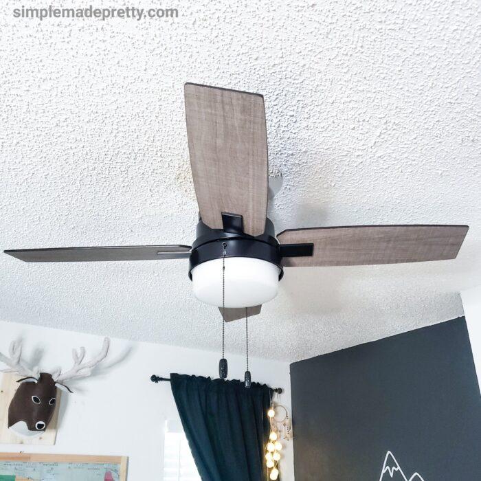 boy's room ceiling fan
