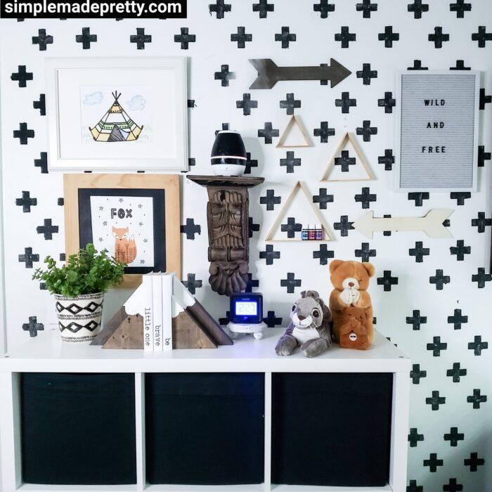 Wilderness bedroom decor Ideas
