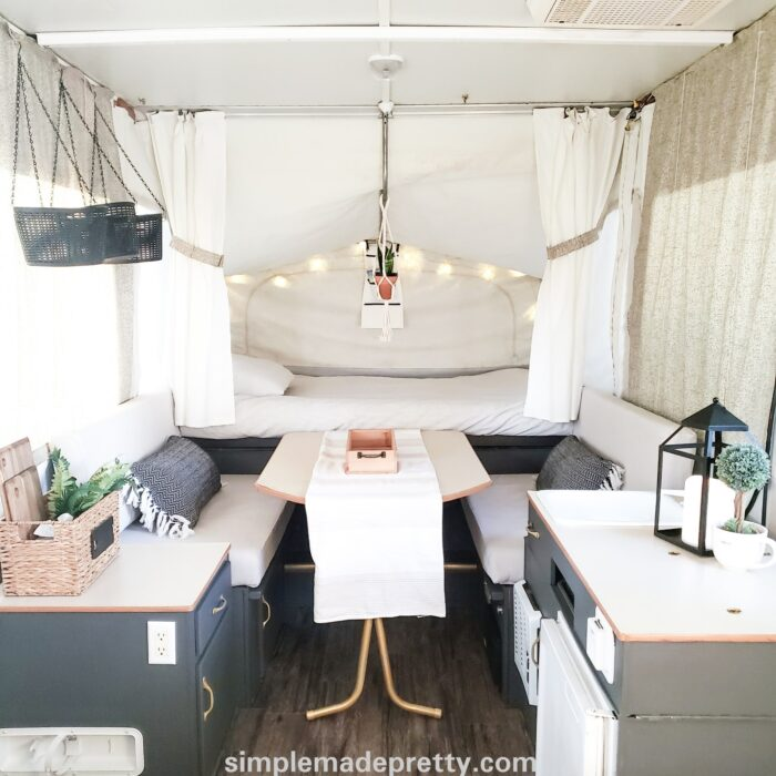 pop up camper remodel color schemes