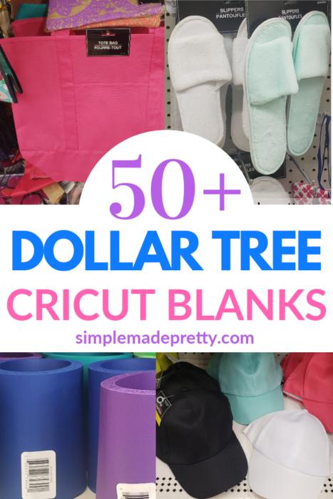 Dollar Tree Cricut Blanks Pin