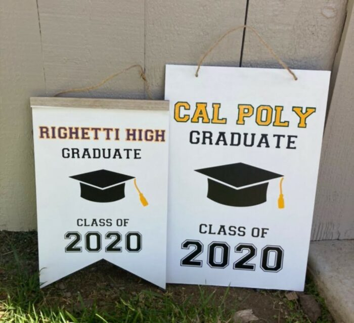 Dollar Tree thinking of a master plan graduation sign