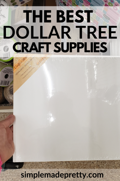 Dollar Tree Art Canvas