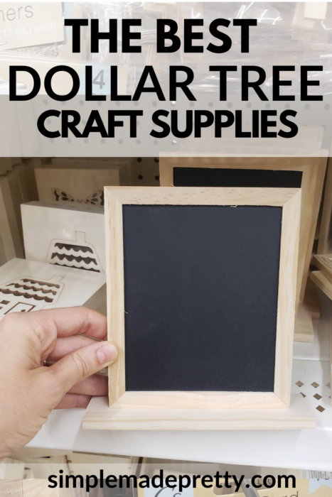 Dollar Tree Chalkboard Sign