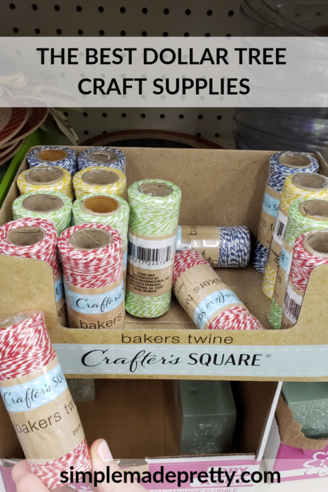 Dollar Tree Crafters Square Twine