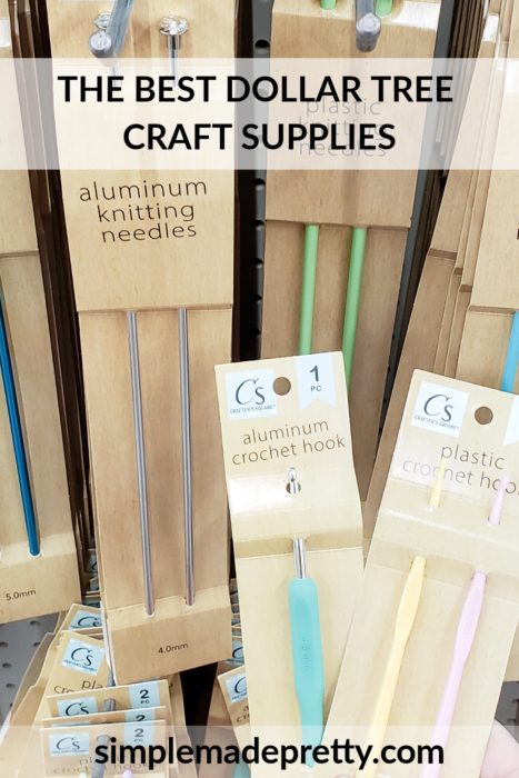 Dollar Tree Knitting Needles