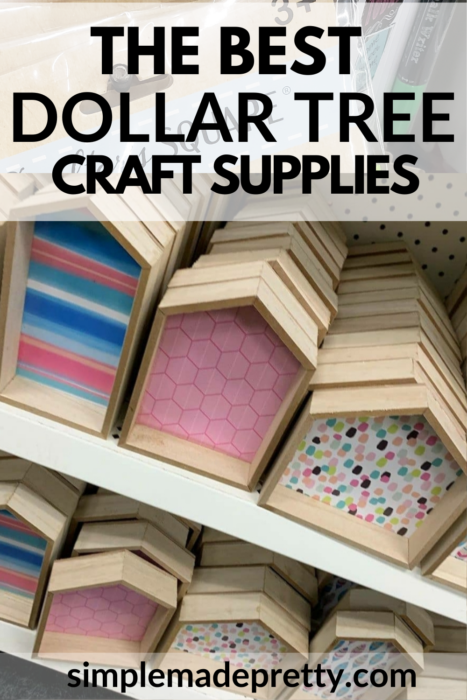 Dollar Tree Wood Houses Crafts