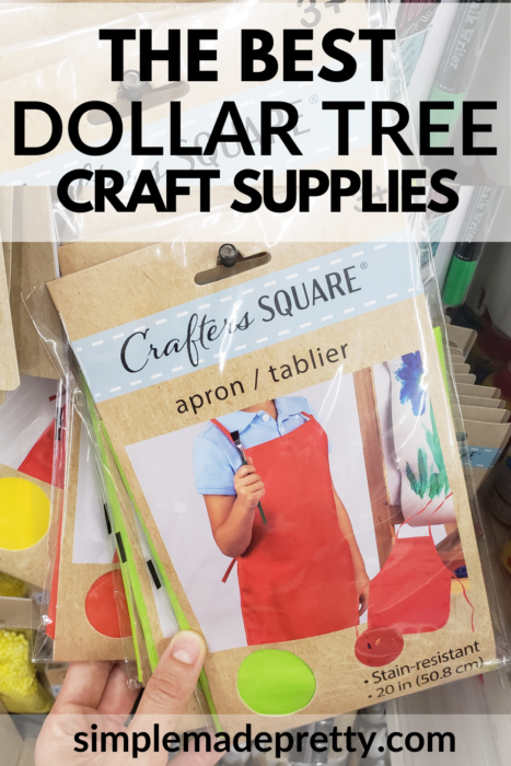 Dollar Tree apron