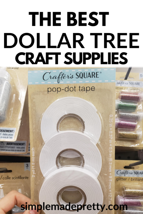 Dollar Tree pop dots