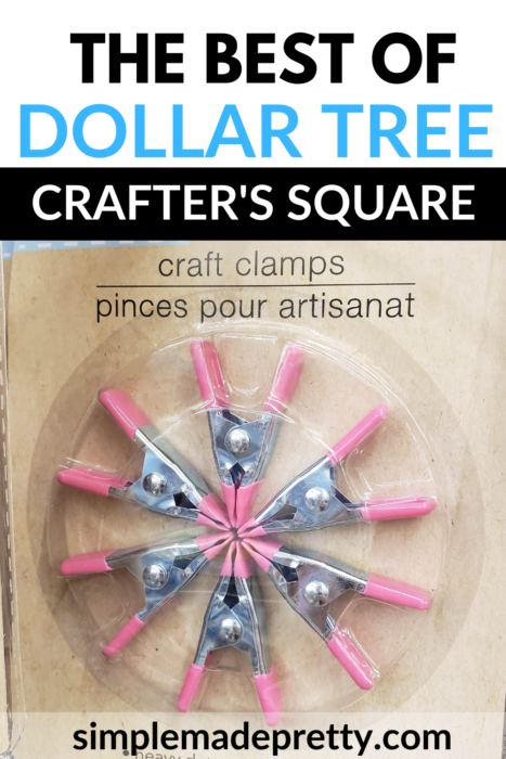 Dollar tree craft clamps