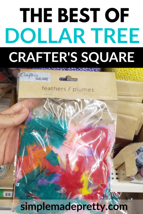 Dollar tree feathers