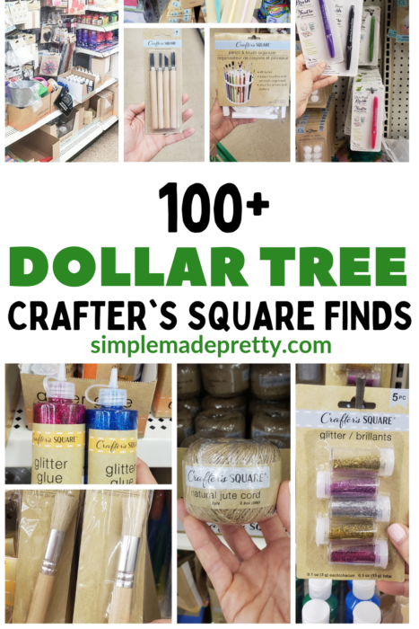 Dollar Tree Craft Supplies List