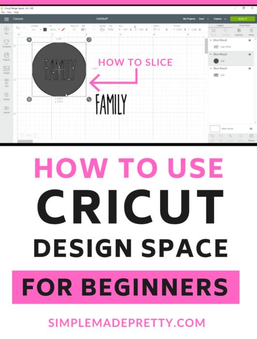 Cricut Design Space Slice