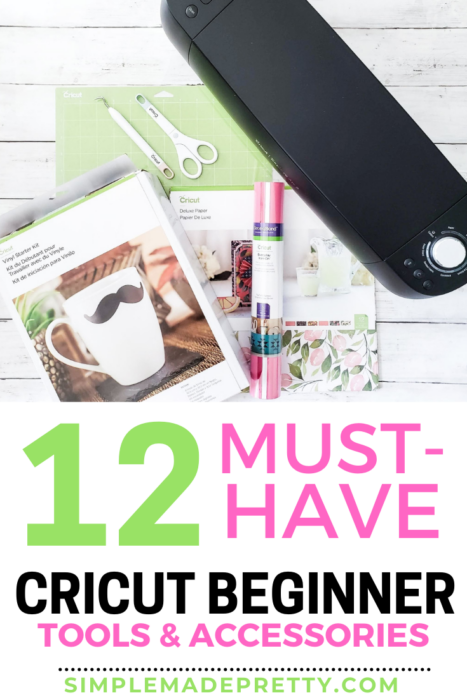 Cricut beginner tools and accessories simple made pretty