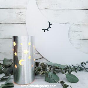 Cricut paper lantern DIY
