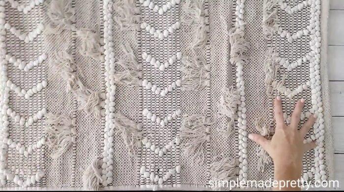 video DIY no sew pillow